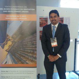 Prof. Jorge Rodríguez participa en conferencia sobre innovación y desarrollo