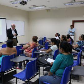 Capacitación dictada a Fundación Huancavilca